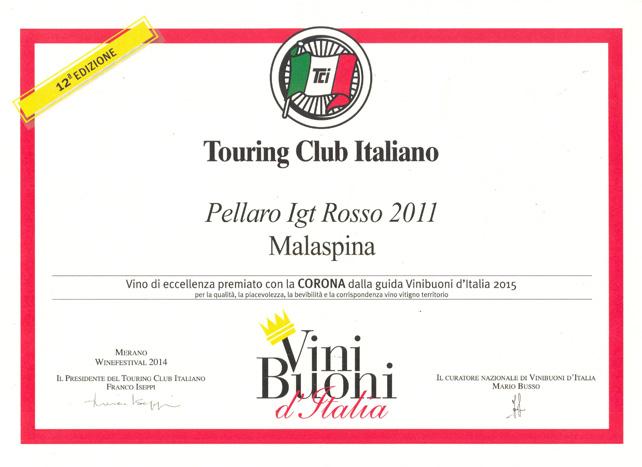 Corona vino Pellaro 2011